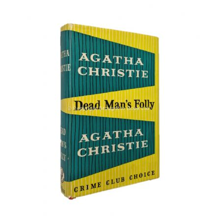 Dead Man's Folly Agatha Christie First Edition The Crime Club by Collins 1956